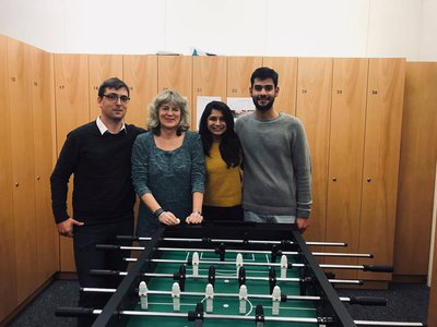 2018 Table Football Tournament Winners