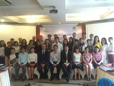 WTI Impact assessment modelling training for government officials in Vietnam (USAID project, 2016)