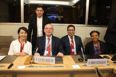 Alumni Panel at the WTO Public Forum 2019